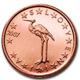 Slovenian 1 cent coin