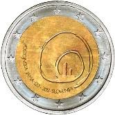 Slovenian Commemorative Coin 2013 - Postonjana