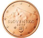 Slovakian 2 cent coin