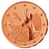 Adorran 1 cent coin