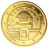 Austrian 50 cent coin