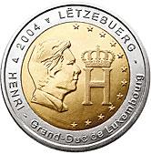 Luxembourg Commemorative Coin 2004 - Grand Duke Henri