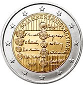 Austrian Commemorative Coin 2005 - 50 years State Treaty