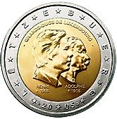Luxembourg Commemorative Coin 2005