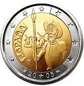 Spanish Commemorative Coin 2005 - Don Quixote