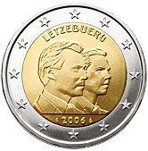 Luxembourg Commemorative Coin 2006 - Grand Duke Guillame