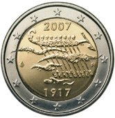 Finnish Commemorative Coin 2007 - Finnish independence