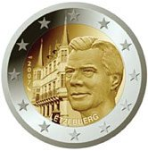 Luxembourg Commemorative Coin 2007 - Grand Ducal Palace