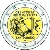 San Marino Commemorative Coin 2009