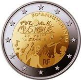 French Commemorative Coin 2011 - Fetze de la Musique