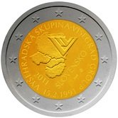 Slovakian Commemorative Coin 2011 - Visegard Accord