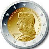Monaco Commemorative Coin 2012