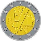 Portuguese Commemorative Coin 2012 - Guimaraes European Cultural Capital