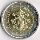 Vatican Commemorative Coin 2012 - Sede Vacante
