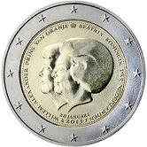 Netherlands Commemorative Coin 2013 - Change of Monarchy Beatrix Willem-Alexander
