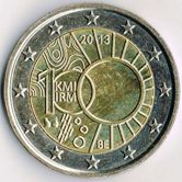 Belgian Commemorative Coin 2013 - Royal Meterological Institution