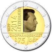 Luxembourg Commemorative Coin 2014