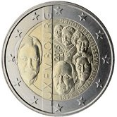 Luxembourg Commemorative Coin 2015 - Dynasty Nassau-Wellburg