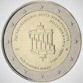 San Marino Commemorative Coin 2015 - German Unification