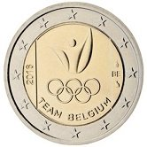 Belgian Commemorative Coin 2016 - Olympic Games 2016
