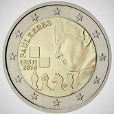 Estonian Commemorative Coin 2016 - Paul Keres