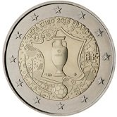 French Commemorative Coin 2016 - European Football Championship