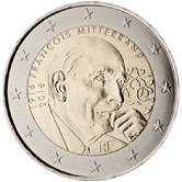 French Commemorative Coin 2016 - Francois Mitterrand