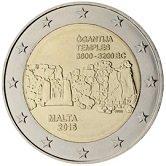 Maltese Commemorative Coin 2016 - Prehistoric Temple of Gganta
