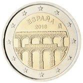 Spanish Commemorative Coin 2016 - Aqueduct of Sergovia