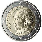 Greek Commemorative Coin 2017 - Nikos Katzanakis
