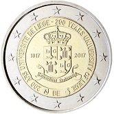 Belgian Commemorative Coin 2017 - University of Liège