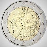 French Commemorative Coin 2017 - Auguste Rodin