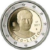 Italian Commemorative Coin 2017 - Titus Livius.