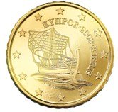 Cyprus 10 cent coin  Cypriot Karenia