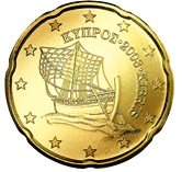 Cyprus 20 cent coin  Cypriot Karenia