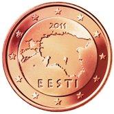 Estonian 5 cent coin