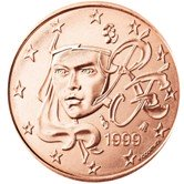 French 5 cent coin