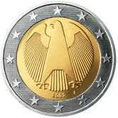 German 2 Euro € coin