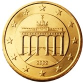 German 50 cent coin