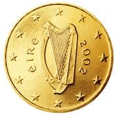 Irish 10 cent coin