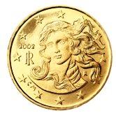 Italian 10 cent coin