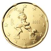 Italian 20 cent coin