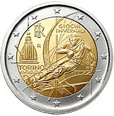Italian Commemorative Coin 2006 - Winter Olympics in Turin