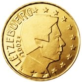 Luxembourg 10 cent coin