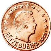Luxembourg 1 cent coin