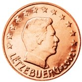 Luxembourg 2 cent coin