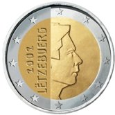 Luxembourg 2 Euro € coin