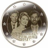 Luxembourg Commemorative Coin 2013 - Wedding Guillame and Stéphanie