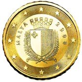Maltese 10 cent coin