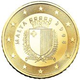 Maltese 50 cent coin